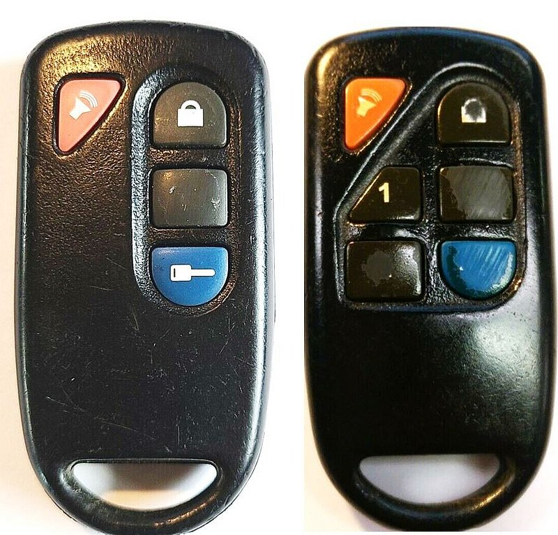 Mazda Keyless Entry Remote Dealer Installed Fcc Id Goh Pcgen2 Car Starter Control Key Fob Pre Owned 6 Button 241bo