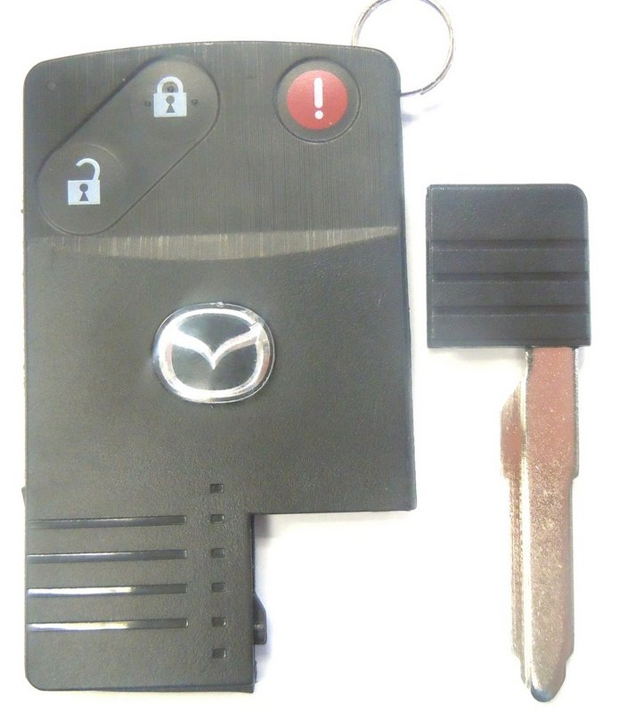 OEM Mazda 3 Button Advanced Keyless Entry Vehicle Car Start Starter System  FCC ID BGBX1T458SKE11A01 Remote