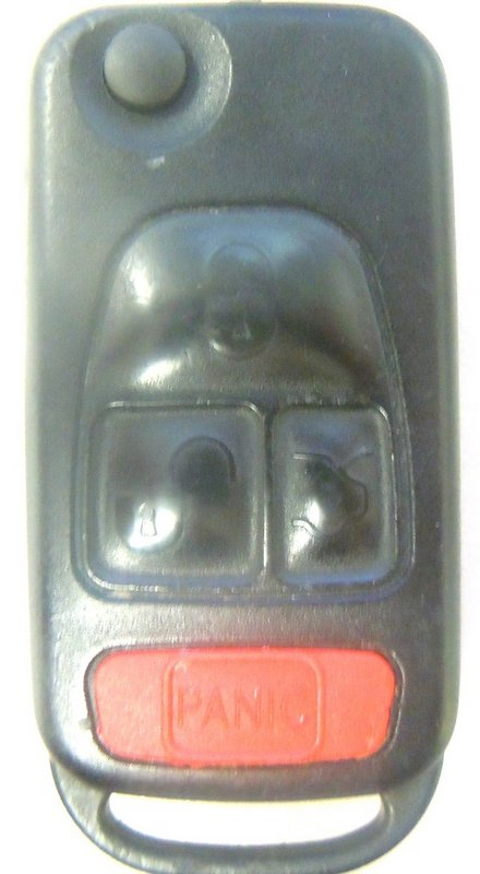 OEM Mercedes Benz 4 Button (Key NOT Included) NCZ MB1K NCZMB1K