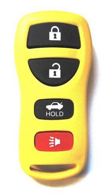Yellow 28268 Zb700 C991a C991c 5y701 Keyless Remote Car