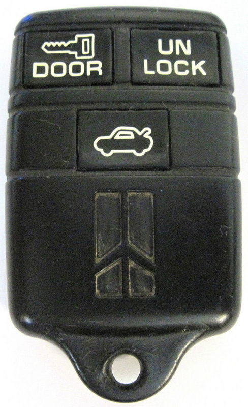 95 96 94 93 92 Oldsmobile Cutlass Ciera Olds ABO0104T 10205240 Keyless Remote Entry Clicker Transmitter