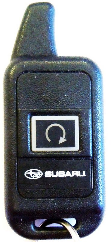 Subaru Goh Pcmini 2w2 H001ssg460 1 On Car Starter Auto Vehicle Start Keyfob Fob