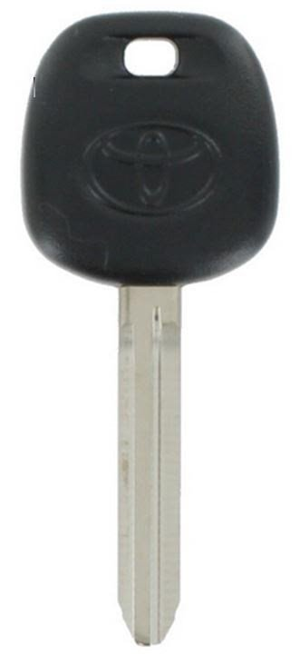 Transponder Ignition Key New Master Toyota Camry No Dot On Existing
