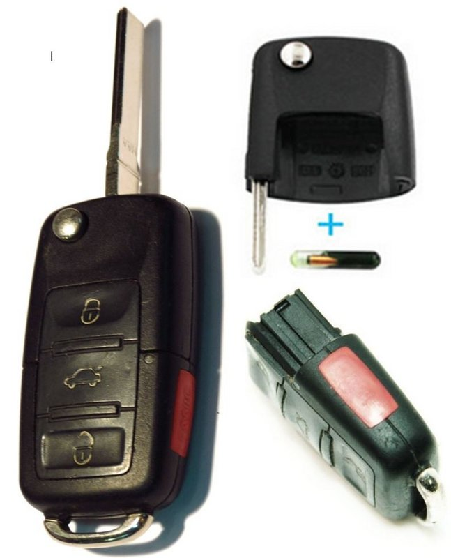 Oem Vw Key Fob Volkswagen Key Replacement Online