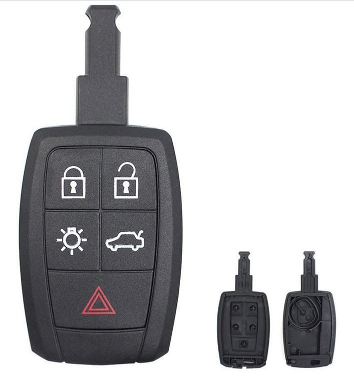 Keyless Remote Replacement Case Key Fob Shell For Volvo