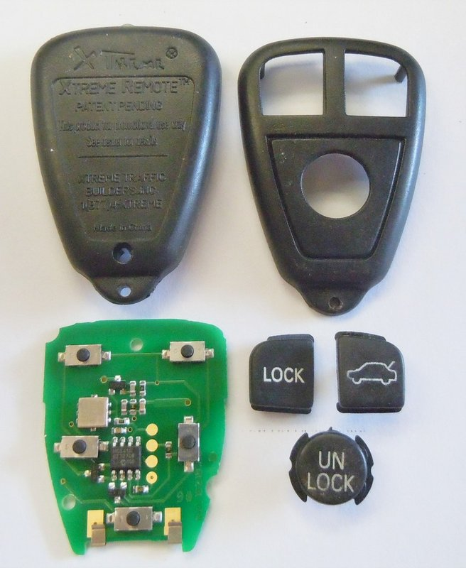 Xtremeextreme Aftermarket Parts Only 3 Buttons Keyless Remote