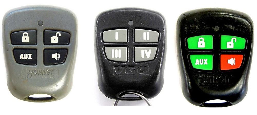 FCC ID EZSDE1475 Key Fob Car Starter Part 485M Keyless