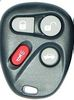 2 For 2001 2002 2003 Cadillac Deville Remote Keyless Entry Key Fob