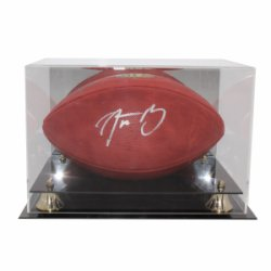 d5428068373 Aaron Rodgers Autographed Signed Wilson Official NFL The Duke Football -  Fanatics Certified Authentic - Display Case and Name Plate Included