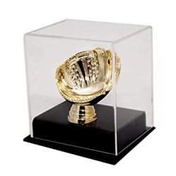 Baseball Gold Glove Display Case - Collector's Edition