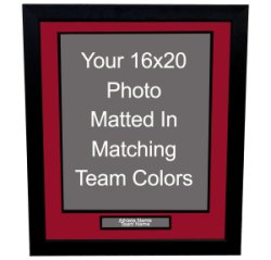 Custom 16x20 Framing with Nameplate