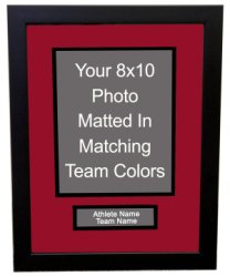 Custom 8x10 Framing with Nameplate
