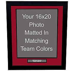 Professional 16x20 Photo Framing with Nameplate
