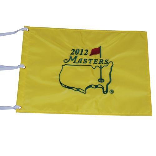 2012 Masters Embroidered Golf Pin Flag - Bubba Watson Champion