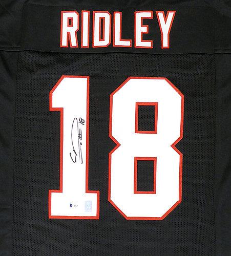 premium selection c26ef 040d4 Atlanta Falcons Calvin Ridley Autographed Signed Memorabilia ...