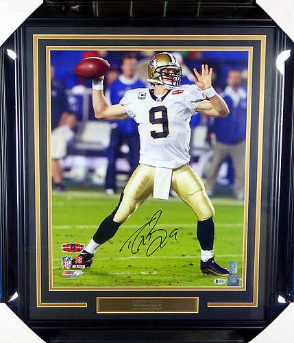 Drew Brees Autographed Signed