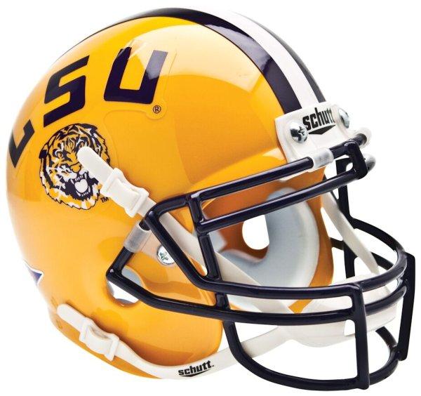 Schutt NCAA LSU Tigers Football Helmet Desk Caddy