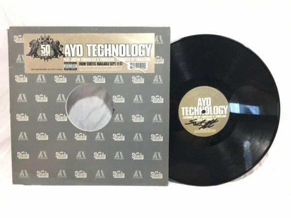50 Cent Autographed Signed Ayo Technology Vinyl Record JSA COA