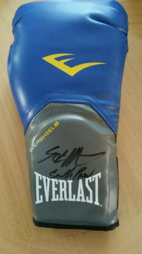 50 Cent Autographed Signed Southpaw Boxing Glove JSA#
