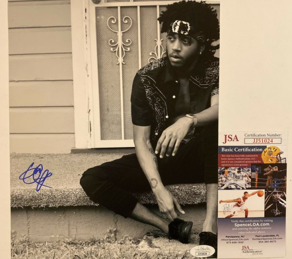 6Lack Autographed Signed Autographed 8X10 Photo East Atlanta Love Letter JSA COA