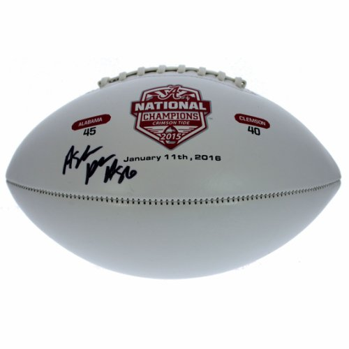Autographed Footballs Dexter Lawrence New York Giants Autographed White Panel Football Fanatics Authentic Certified