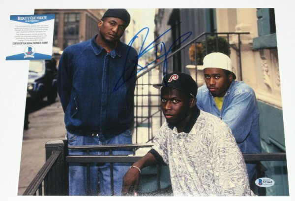A Tribe Called Quest Autographed Signed Q-Tip - - 11X14 Group Photo Proof Beckett COA Beckett