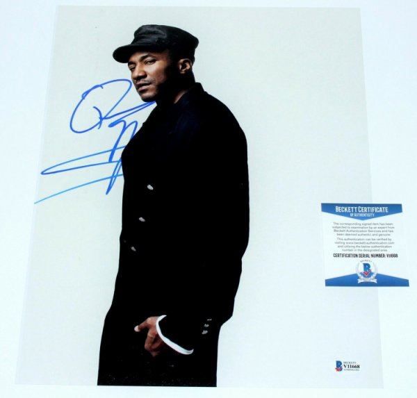 A Tribe Called Quest Autographed Signed Rapper Q-Tip - - 11X14 Photo Proof Beckett COA Beckett