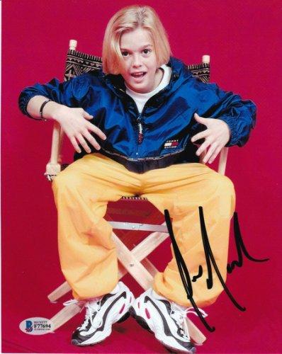 Aaron Carter Autographed Signed Pop Star Autographed I Want Candy Beckett COA Beckett
