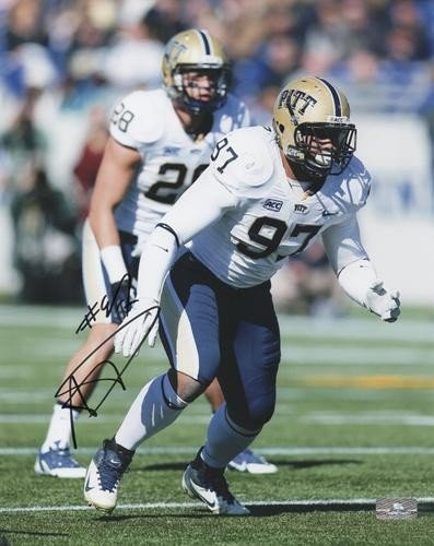 cb5539021fe Aaron Donald Autographed Signed Auto Pittsburgh Panthers 8x10 Photograph -  Certified Authentic