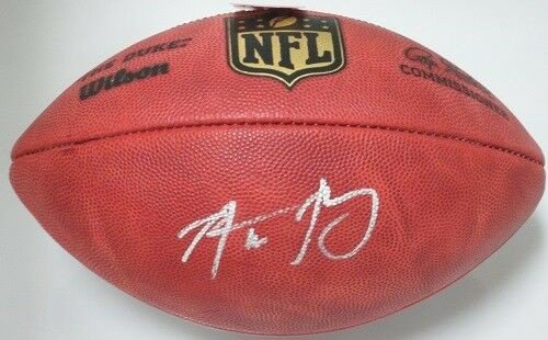 Aaron Rodgers Autographed Signed Packers Authentic Duke Football Auto - MVP - Fanatics