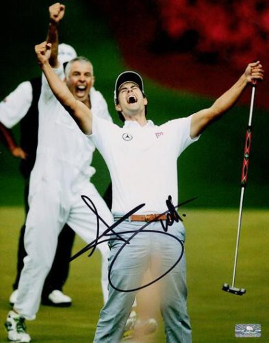 Adam Scott Autographed Signed Golf (Masters Victory) 8   10 Photo