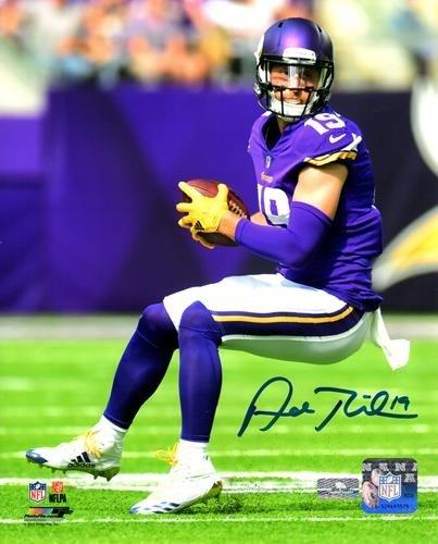 new product 05b01 185aa Adam Thielen Autographed Signed Auto Minnesota Vikings 8x10 ...