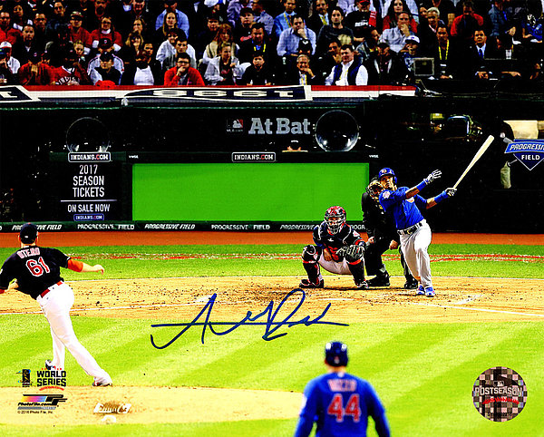 Addison Russell Autographed Signed Chicago Cubs 2016 World Series Game 6 Grand Slam 8x10 Photo - Certified Authentic Autograph