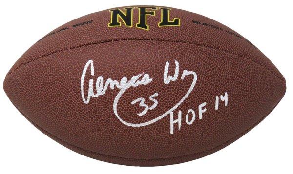 Aeneas Williams Autographed Signed Wilson Super Grip Full Size NFL Football w/HOF'14