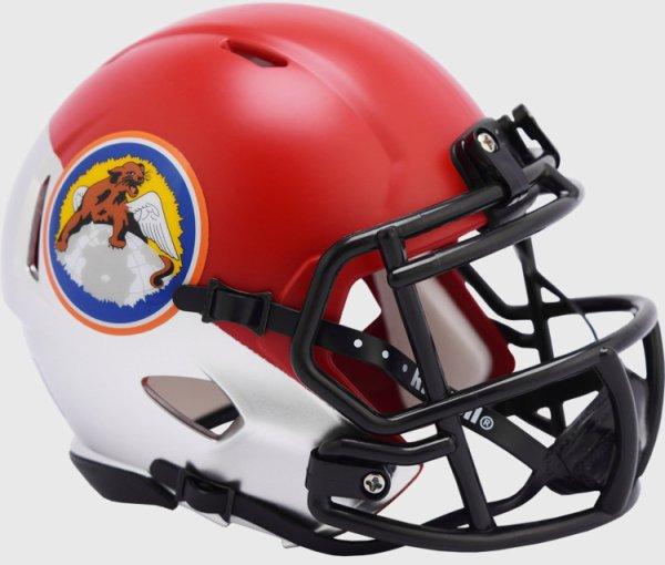Air Force Falcons NCAA Mini Speed Football Helmet Tuskegee 100th Limited Edition