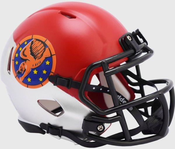 Air Force Falcons NCAA Mini Speed Football Helmet Tuskegee 99th Limited Edition