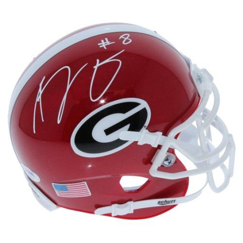 5056ea784 AJ Green Georgia Bulldogs Autographed Signed Schutt Mini Helmet - PSA DNA  Authentic