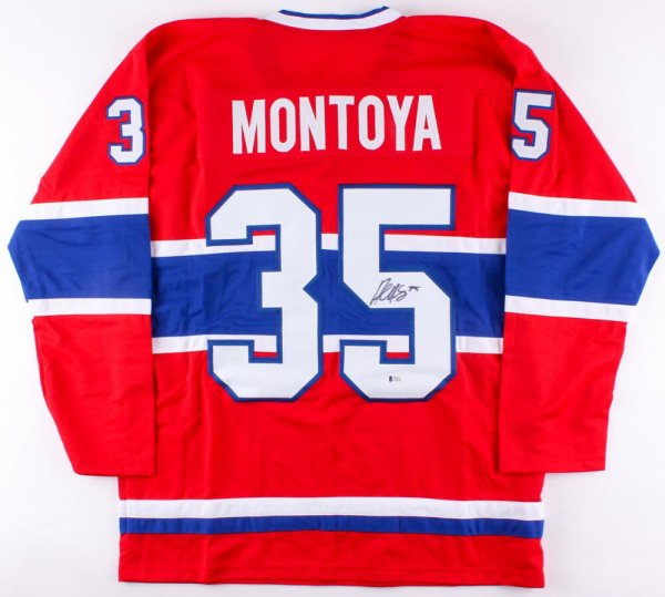Al Montoya Edmonton Oilers Player Swingman Jersey