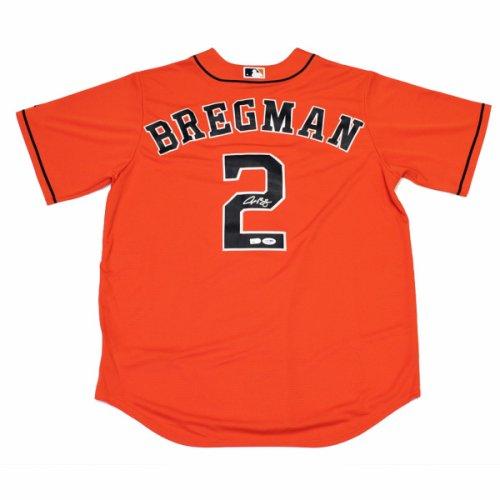 Alex Bregman Autographed Signed Houston Astros Orange Baseball Jersey - PSA/DNA Authentic