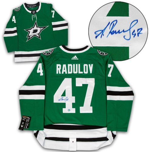 Alexander Radulov Dallas Stars Autographed Signed Adidas Authentic Hockey  Jersey 33298f8b0