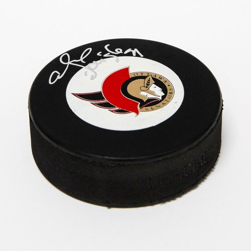 Alexandre Daigle Ottawa Senators Autographed Signed Autograph Model Hockey Puck