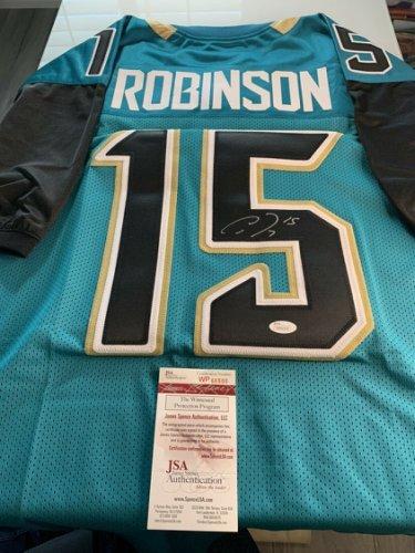 Allen Robinson Autographed Signed /Signed Jersey JSA COA Jacksonville Jaguars