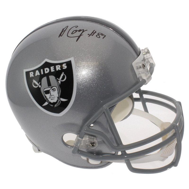 Amari Cooper Autographed Signed Oakland Raiders Full Size Replica Helmet -  JSA Certified Authentic - Autographed Signed Helmets 3156e35af