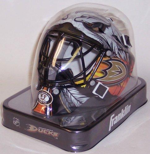 Anaheim Ducks Franklin Sports NHL Mini Goalie Mask