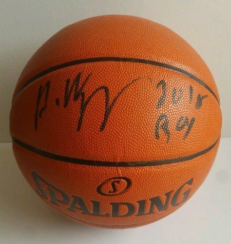 Andrew Wiggins Autographed Signed Signed Basketball Minnesota Timberwolves JSA PSA DNA