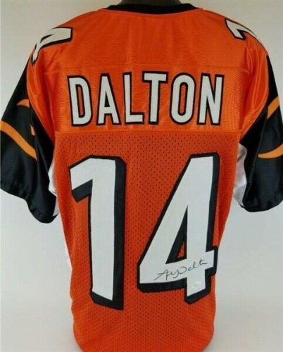 Andy Dalton Autographed Signed Cincinnati Bengals Jersey (JSA COA) 3 Pro Bowl Q.B. / Tcu