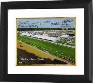 Angel Cordero signed Horse Racing 16x20 Photo w//Pincay Autographed Horse Racing Photos