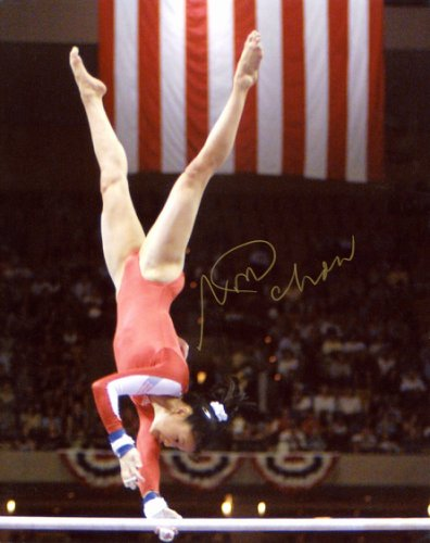 S SHANNON MILLER USA WOMENS OLYMPIC GYMNASTICS 8X10 SPORTS ACTION PHOTO