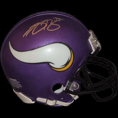 Anthony Barr Autographed Signed Minnesota Vikings Mini Helmet