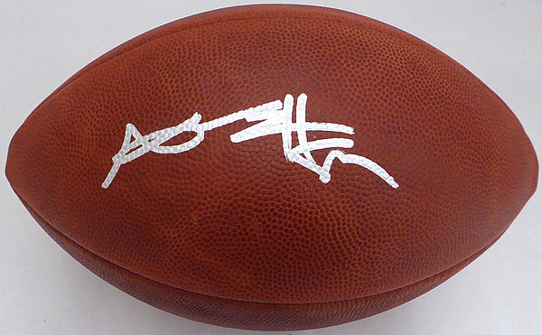 Antonio Brown Autographed Signed Auto NFL Leather Football Pittsburgh  Steelers - Beckett Certified c4223fcbb